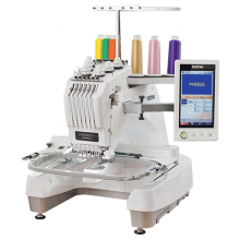 brother 10 needle home embroidery machine entrepreneura pro PR655